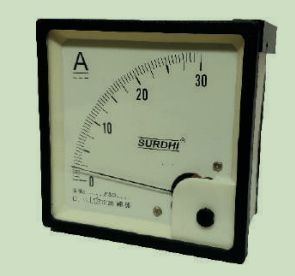 DC Analogue Voltmeter and Ammeter