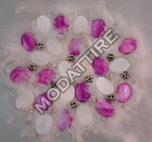 Feather Embroidery Fabrics