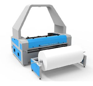 Textile Laser Engraving and Cutting Machine