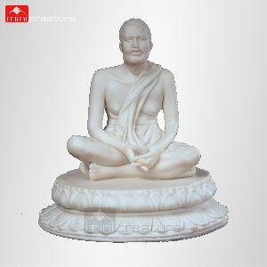 Sri Ramakrishna Marble Statue
