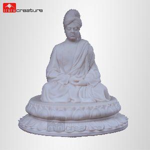 Swami Vivekananda Marble Statue