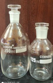 Cornsil Reagent Bottles with stopper
