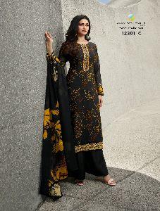 DN-12301 C Ladies Designer Suits
