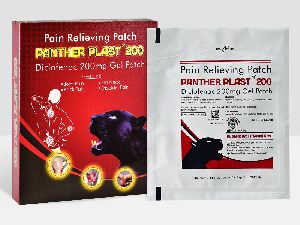 Panther Plast 200 Diclofenac Transdermal Patch