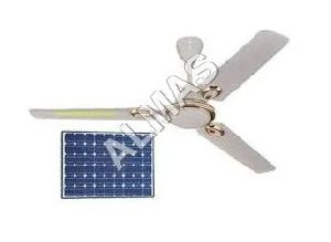 White Solar Ceiling Fan