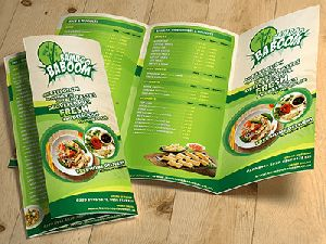 Restaurant Menu Printing Services
