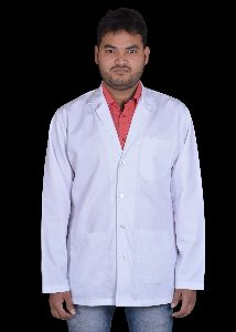 Mens Full Sleeves Doctor Lab Coat Apron