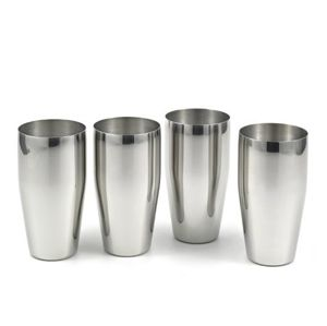 Steel Water Glass