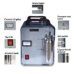 Acrylic Flame Polishing Machine