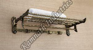 Kitkeet Stainless Steel Folding Towel Rack