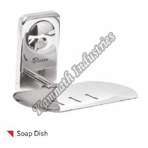 stainlees steel Rectangle Single Soap Dish