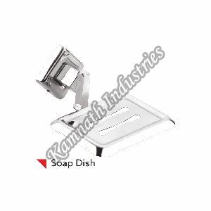 stainlees steel Square Single Soap Dish
