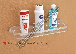 Leezen Multipurpose Bathroom Wall Shelf