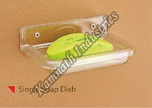 Plastic Single Soap Dish