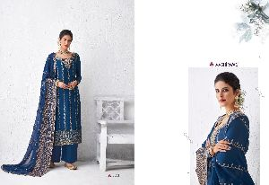 AASHIRWAD CREATION LAUNCHED GULABO PURE DOLA SILK FANCY SALWAR SUITS WHOLESALE DEALER SURAT