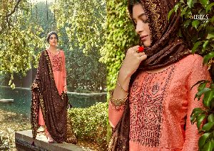 IBIZA PRESENTS NARGIS PURE SILK WITH FANCY EMBROIDERY WORK SALWAR SUITS WHOLESALE DEALER SURAT