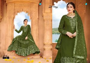 YOUR CHOICE LAUNCHED CELEBRITY VOL 2 GEORGETTE AND BUTTERFLY NET SALWAR KAMEEZ WHOLESALE DEALER SURA
