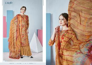 ZULFAT DESIGNER SUIT PRESENTS FLORENCE PURE COTTON FABRIC WITH DIGITAL PRINT SALWRA SUIT WHOLESALE