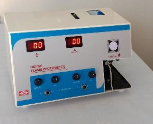 SI-206 Digital Duel Display Flame Photometer