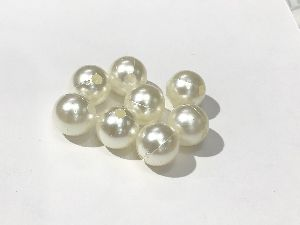 10mm ABS with Hole Beads