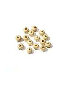 4mm Wooden Goli Beads