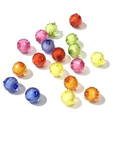 Double Goli Crystal Beads