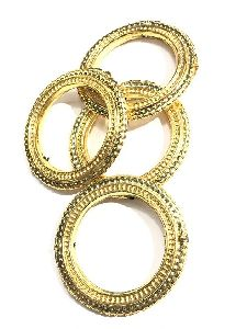 Golden Ring Metalized Beads