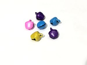 Metal Colored Ghungroo Beads