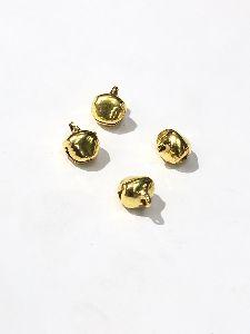 Metal Golden Ghungroo Beads