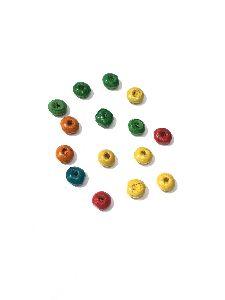 Wooden Chakri Color Beads