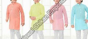Boys Chikankari Kurta