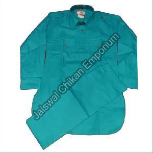 Boys Cotton Pathani Suit Set