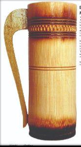 Bamboo Beer Mug