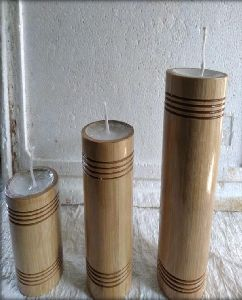 Bamboo Candle Holder