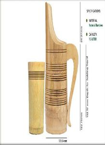 Bamboo Jug and Glass Set