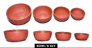 Terracotta Bowl Set