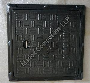 Manox Black Manhole Cover