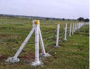 Concrete Fencing Pole