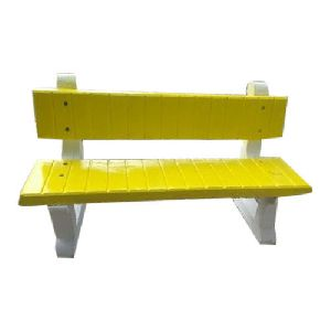 Three Seater Concrete Bench
