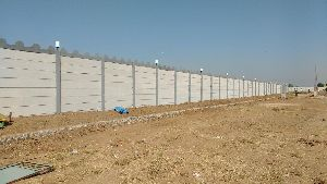 Precast Wire Fencing Compound Wall