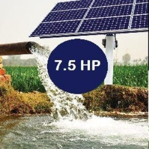 7.5 HP Submersible Solar Water Pump System