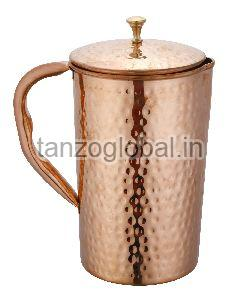 Copper Hammered Water Jug