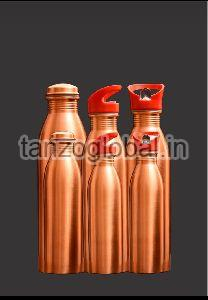Copper Water Bottle with cap