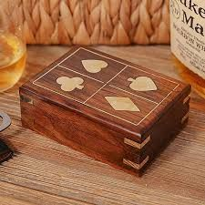 Wooden Playing Card