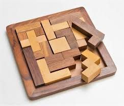 Wooden Tangram Puzzle Game