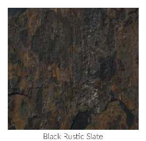 Black Rustic Contemporary Sandstone and Limestone Paving Stone