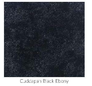 Cuddapah Black Ebony Limestone Tile