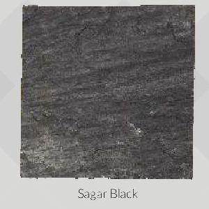 Sagar Black Hand Cut Sandstone and Limestone Paving Stone