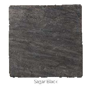 Sagar Black Tumble Sandstone and Limestone Paving Stone