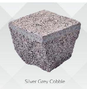 Silver Grey Granite Cobbles